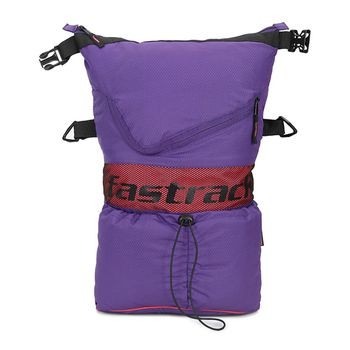 Fastrack Polyester Women's Sling Bag - Purple/Red