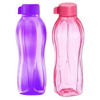 Tupperware AQUASAFE Water Bottle Set 500ml, 2pcs