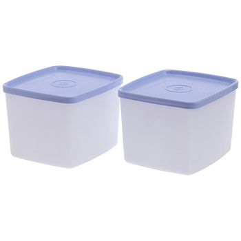 Tupperware Cool N Fresh Container Set 700ml, 2pcs