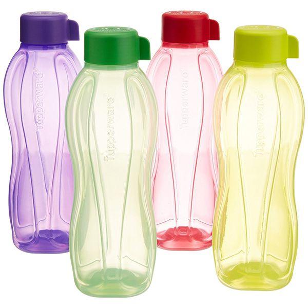 Tupperware AQUASAFE Water Bottle Set 1l, 4pcs Image