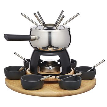 KitchenCraft ARTESÀ Fondue with Bowls Set 24pcs