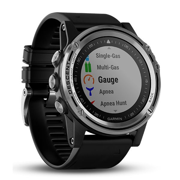 Garmin DESCENT™ Mk1 Dive Smartwatch - Silver Image