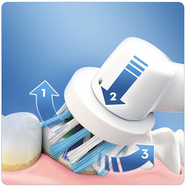 Oral-B PRO 700 Cross Action Toothbrush + Water Jet Mouth ShowerImage