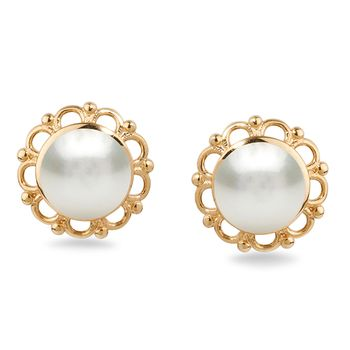 UMI Pearls FLORA Pearl Earrings