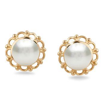 UMI Pearls FLORA Pearl Earrings
