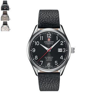 Swiss Military Hanowa HELVETUS Gents Watch - Leather Strap