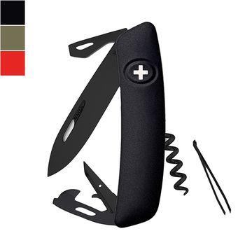 SWIZA D03 ALLBLACK Swiss Knife