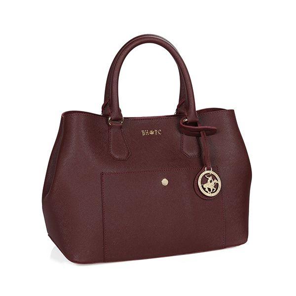 Beverly Hills Polo Club Saffiano Tote BagImage