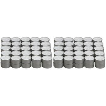 Delice Plain Tea Light Candle Pack 50pcs