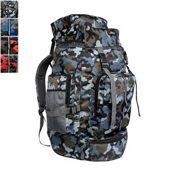 Bleu CAMO Printed Laptop Backpack