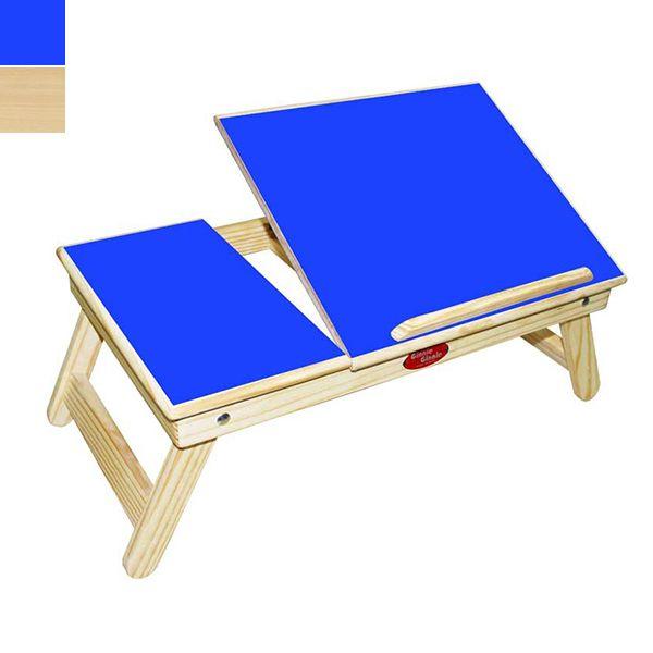 Ginnie & Ginnie Half-Cut Laminated Laptop Table Image