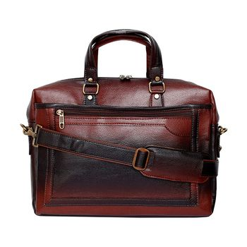 Bleu Executive Laptop Bag - Brown