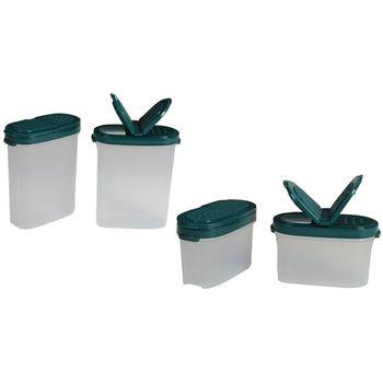 SignoraWare Sprinkle n Spice Twin-Lid Storer Set of 2