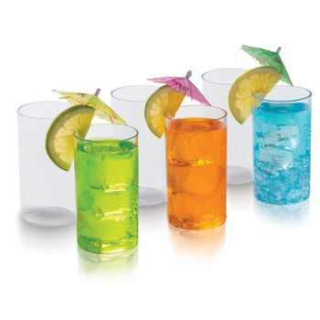 SignoraWare Big Crystal Clear Glass, Set of 6