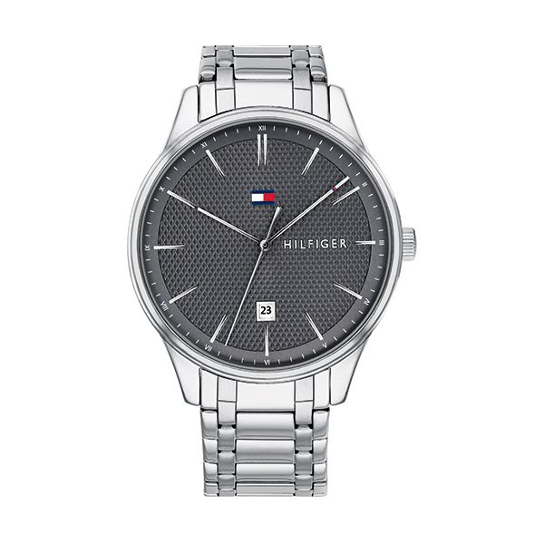 Tommy Hilfiger DAMON Gents Watch with Steel Strap Image