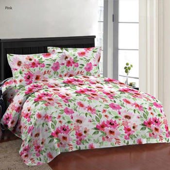 Bombay Dyeing Double Bedsheet with 2 Pillow Covers - 2229
