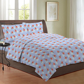 Bombay Dyeing Double Bedsheet with 2 Pillow Covers - 2290