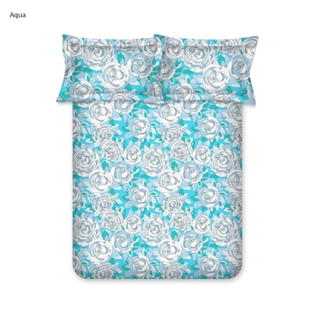 Bombay Dyeing Double Bedsheet with 2 Pillow Covers - 2695