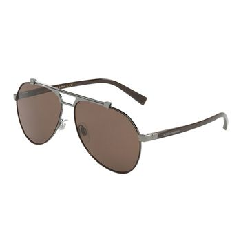 Dolce & Gabbana DG2189 Aviator Men's Sunglasses