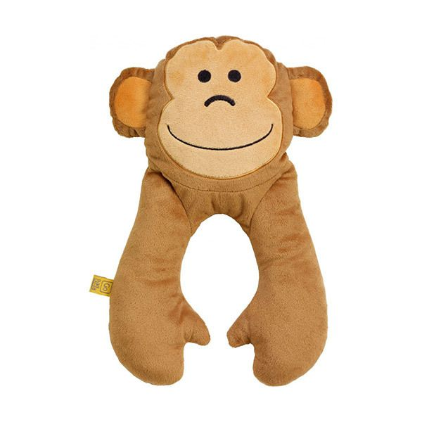 Go Travel Monkey Baby Neck PillowImage