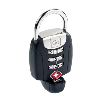 Go Travel Twist 'n' Set TSA Combination Padlock