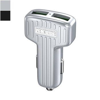 Zendure Dual-USB Car Charger with Quick Charge 3.0