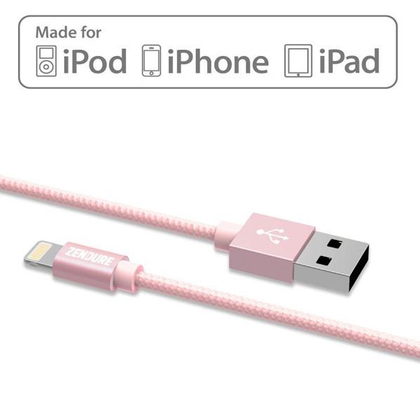 Zendure Apple-Certified USB-to-Lightning Charging Cable 30cmImage