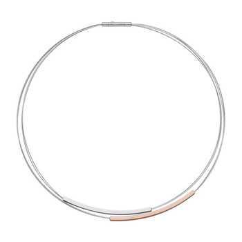 Skagen ELIN Women's Two-Tone Short Wire Necklace