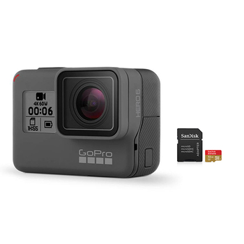 GoPro HERO6 Camera with SanDisk microSD Card 32GB