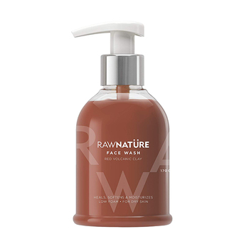 Raw Nature Red Volcanic Clay Face Wash 170g