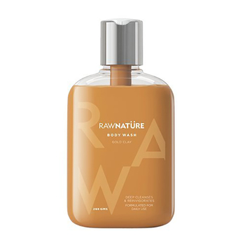 Raw Nature Volcanic Gold Clay Body Wash 265g