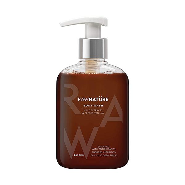 Raw Nature Malt Extracts & Pepper Vanilla Body Wash 265g Image