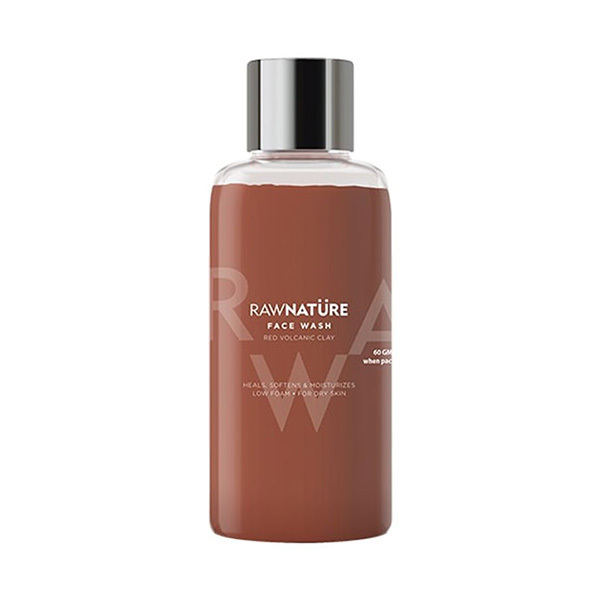 Raw Nature Red Volcanic Clay Face Wash 60g Image