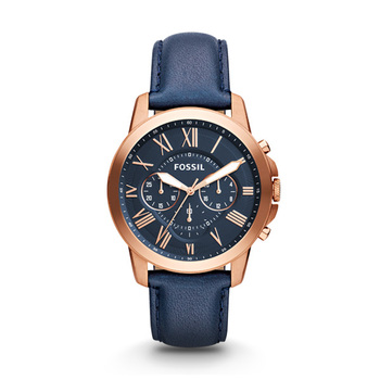 Fossil GRANT Gents Chronograph FS4835 with Leather Strap