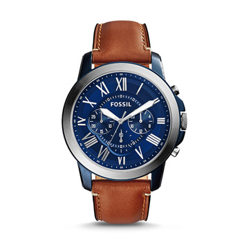 Fossil GRANT Gents Chronograph FS5151 with Leather Strap