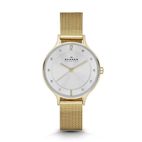 Skagen ANITA Gold-Tone Ladies Watch Image