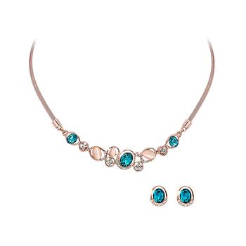 Pica LéLa CAROLINA Crystal Necklace & Earrings Set