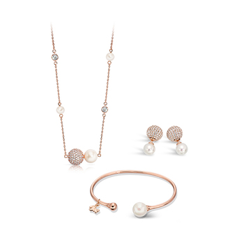 Pica LéLa CINDERELLA Pendant Necklace, Bangle & Earrings Set