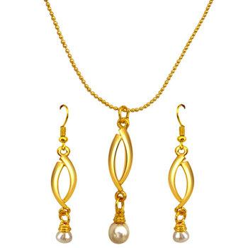 SURAT DIAMOND Sensual Pearls Pendant Necklace & Earrings Set
