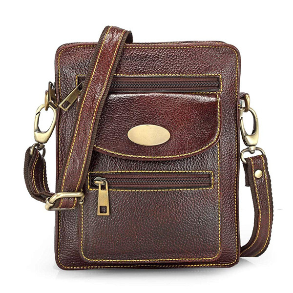 Teakwood Unisex Shoulder Bag Image