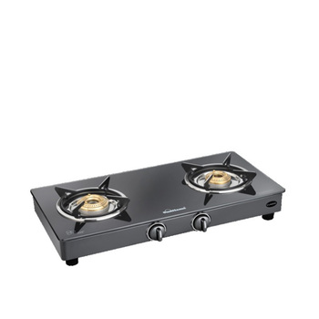 Sunflame CLASSIC 2B BK Glass Cooktop