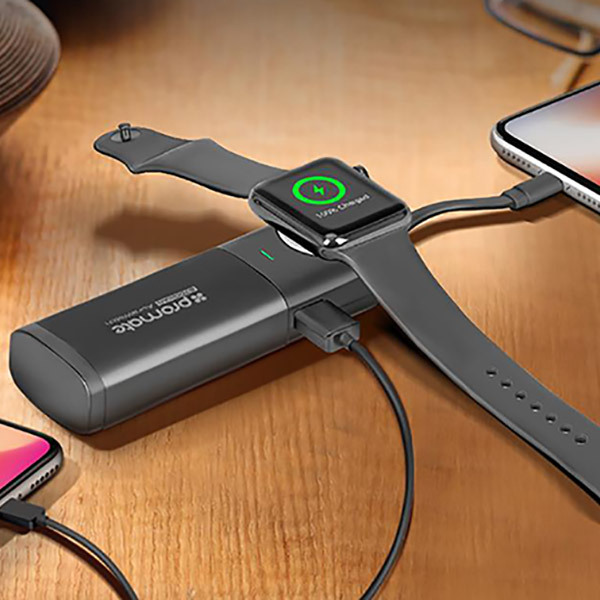 Promate AURAWATCH-1 Portable Power Bank 6700mAh