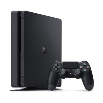 PlayStation PS4 Slim 500GB - Jet Black