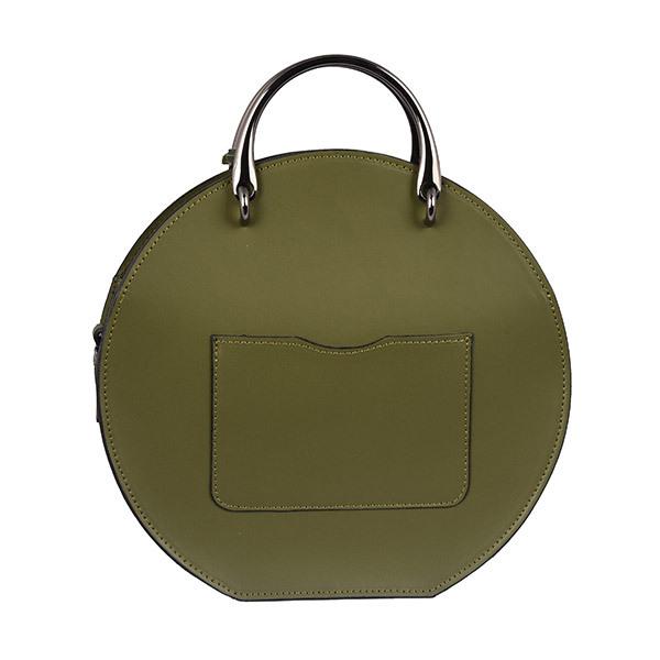 Emilio Masi BOM BOM Leather Shoulder BagImage