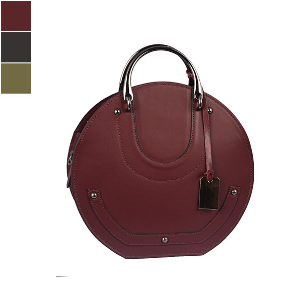 Emilio Masi BOM BOM Leather Shoulder Bag Image