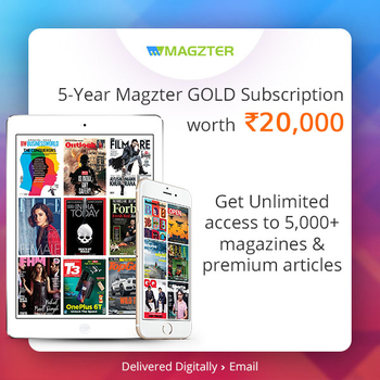 Magzter GOLD Digital Magazine Subscription Plan - 5 Years