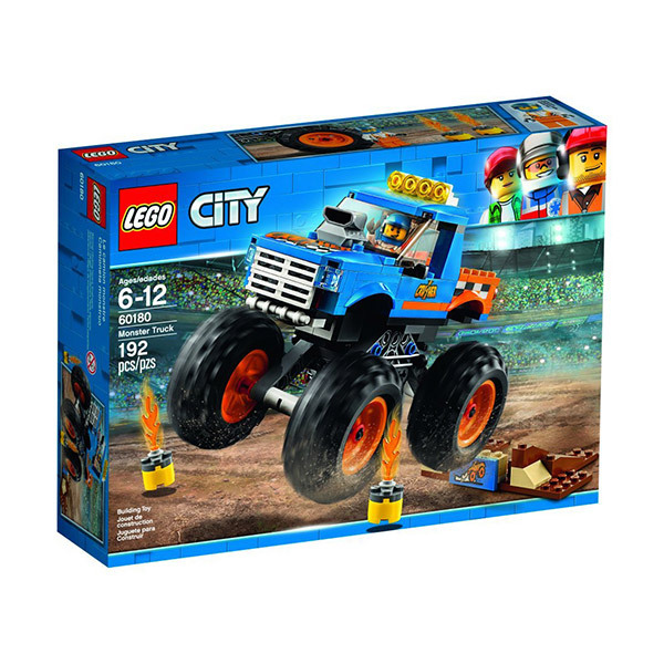 Lego CITY Monster Truck Image