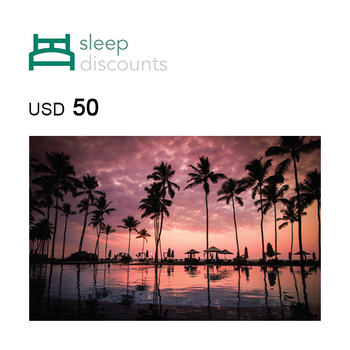 Sleep Discounts Travel Voucher $50