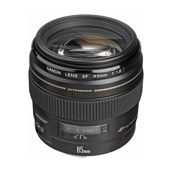 Canon EF 85mm f/1.8 USM Short Telephoto Lens Image