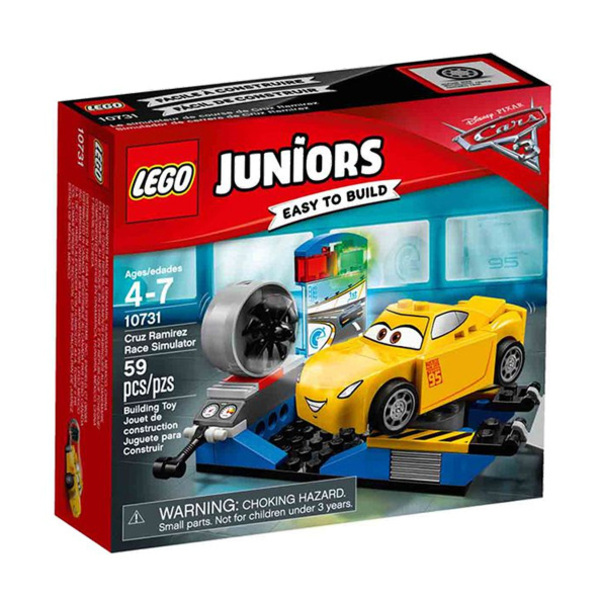 Lego JUNIORS Cruz Ramirez Race Simulator Image